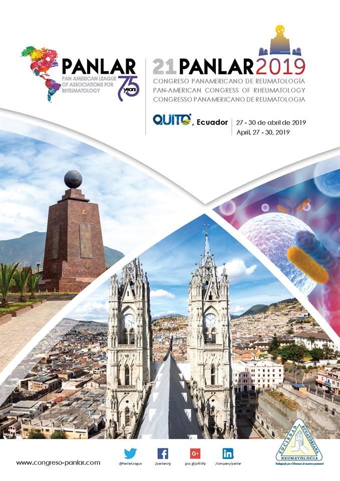 PANLAR ECUADOR 2019- 27 AL 30 DE ABRIL – QUITO